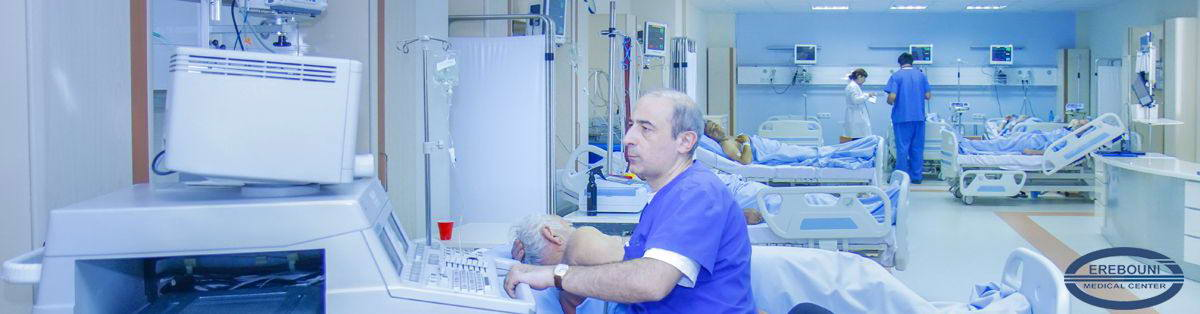 Urgent cardiology department with intensive care unit