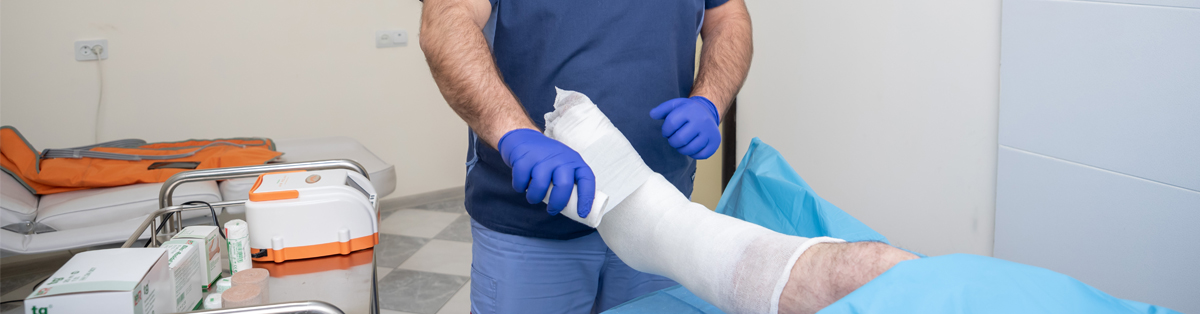 Hard healing wound and lymphedema treatment service