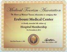 Medical Tourism Association - «Hospital Membership» - 2013
