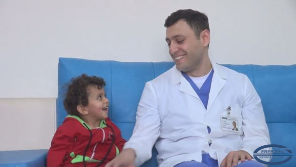 The life of a 2.5-year-old child with stroke was saved in MC Erebouni.